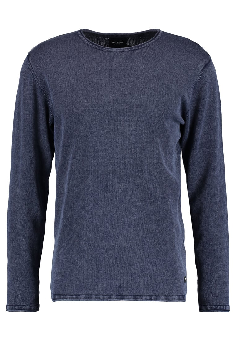 Only & Sons GARSON Sweter dress blues - 22006806