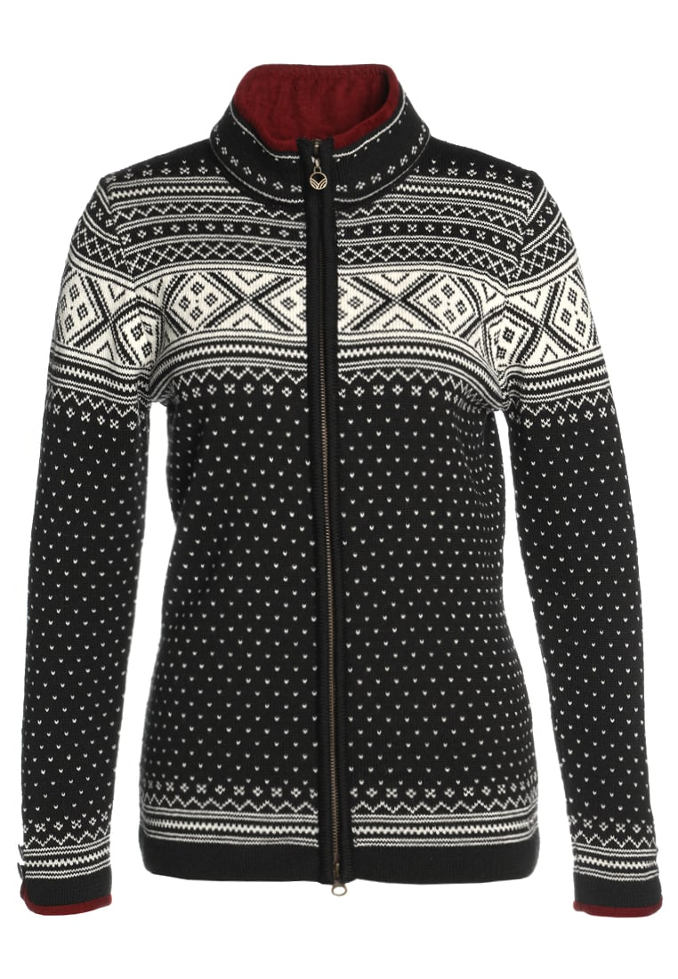 Dale of Norway VALLE Sweter black/off white - 80211