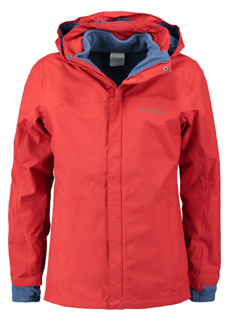 Columbia MISSION AIR 2IN1 Kurtka Outdoor rust red - WO7211