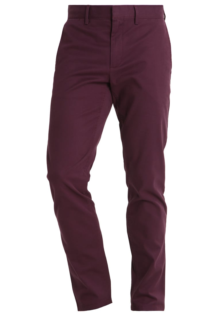 Banana Republic FULTON Chinosy burgundy - 250771