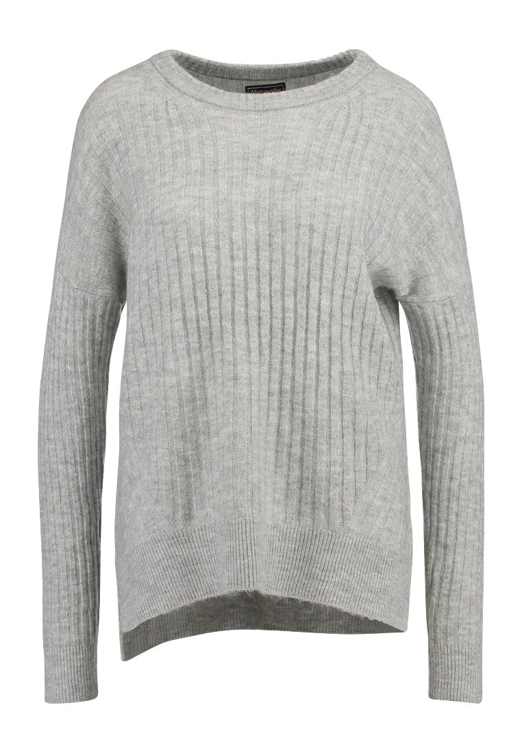 Abercrombie & Fitch Sweter light grey