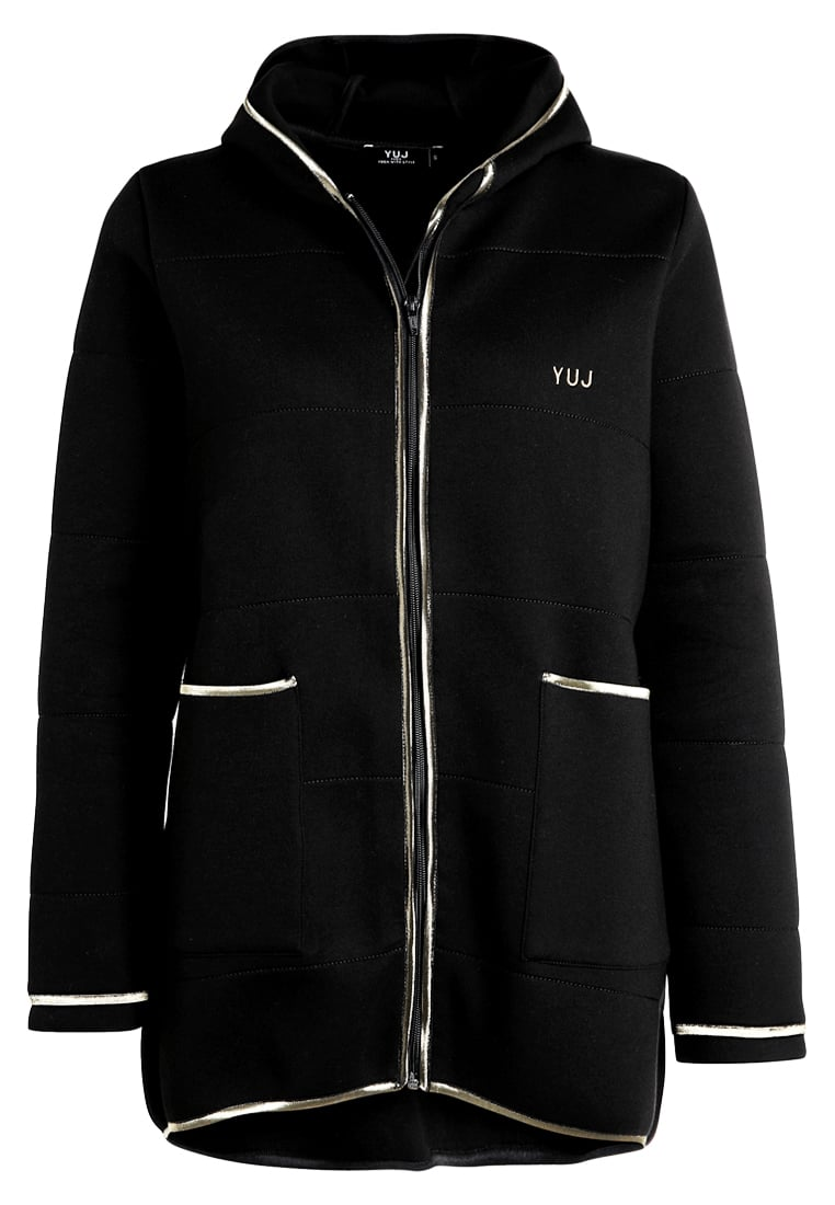 YUJ Bluza rozpinana black - SWEATJACKET