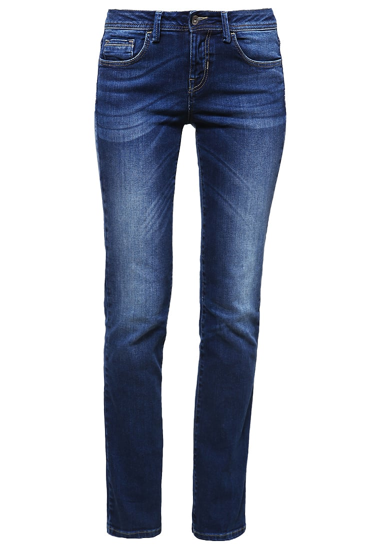 Benetton Jeansy Straight leg mid blue - 4S4NZ70A4