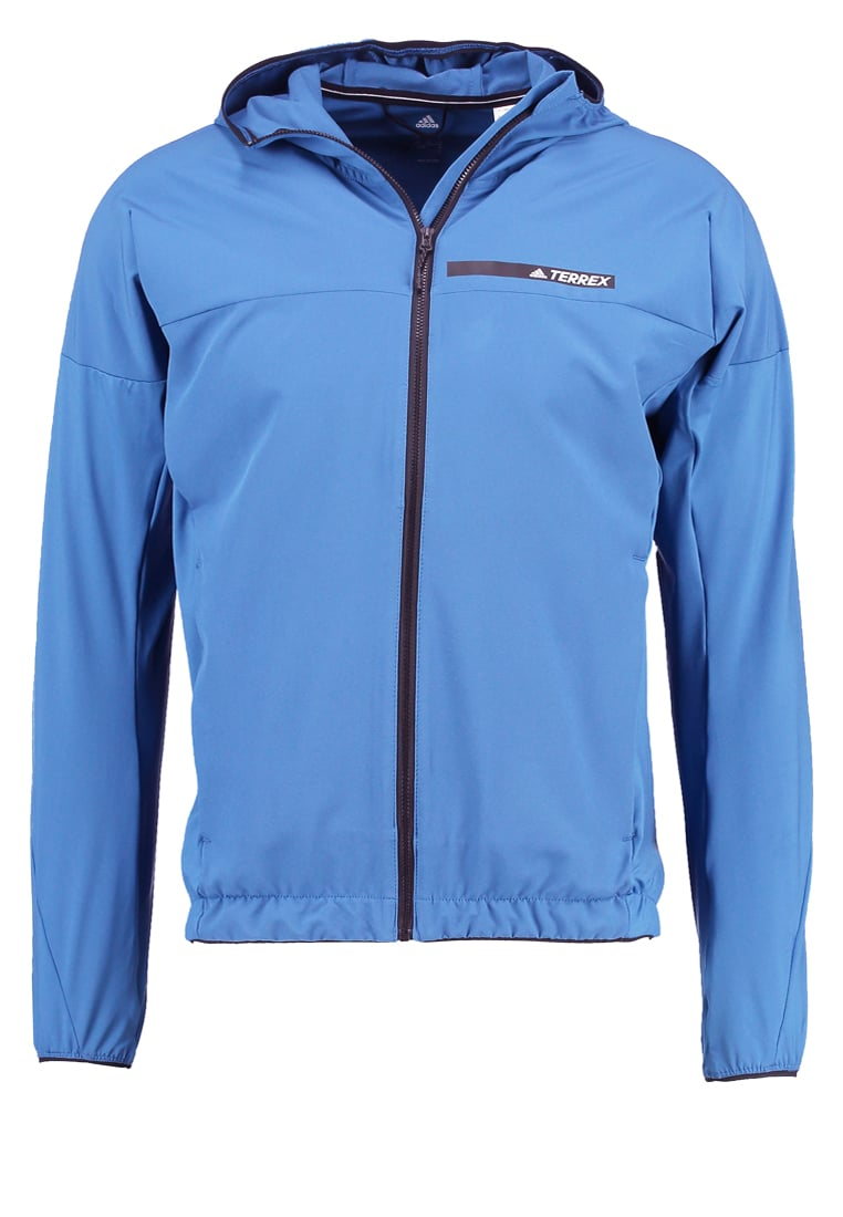 adidas Performance Kurtka Outdoor core blue - BWG44