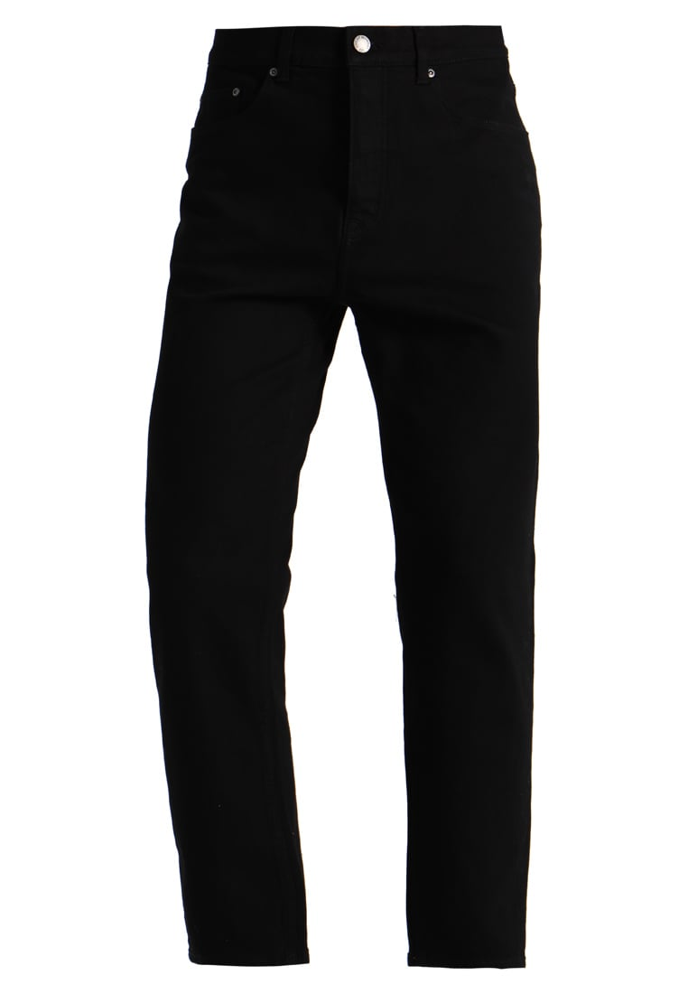 Cheap Monday IN LAW CROPPED Jeansy Relaxed Fit deep black - 0527106