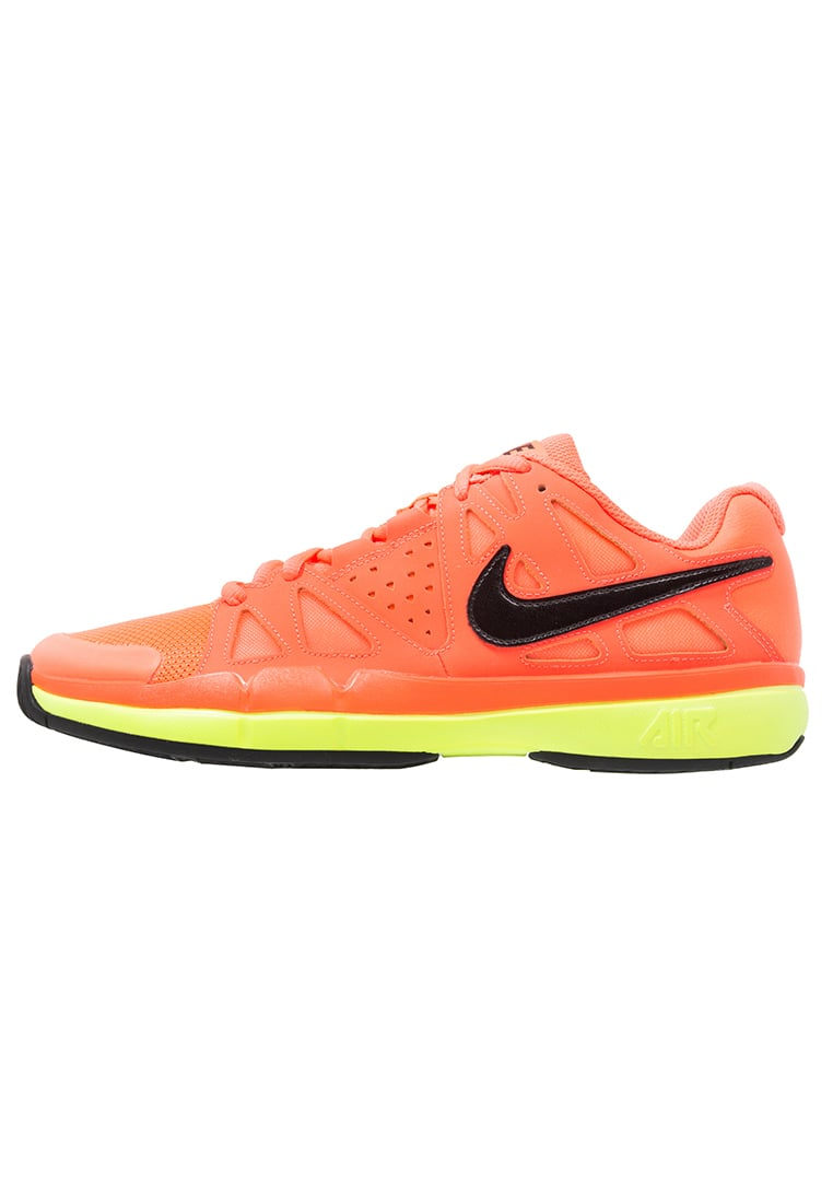 Nike Performance AIR VAPOR ADVANTAGE Buty do tenisa Outdoor hyper orange/black/volt/white - 599359