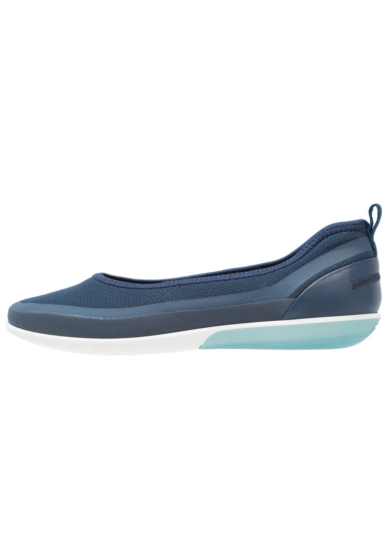 ecco SENSE LIGHT Baleriny true navy