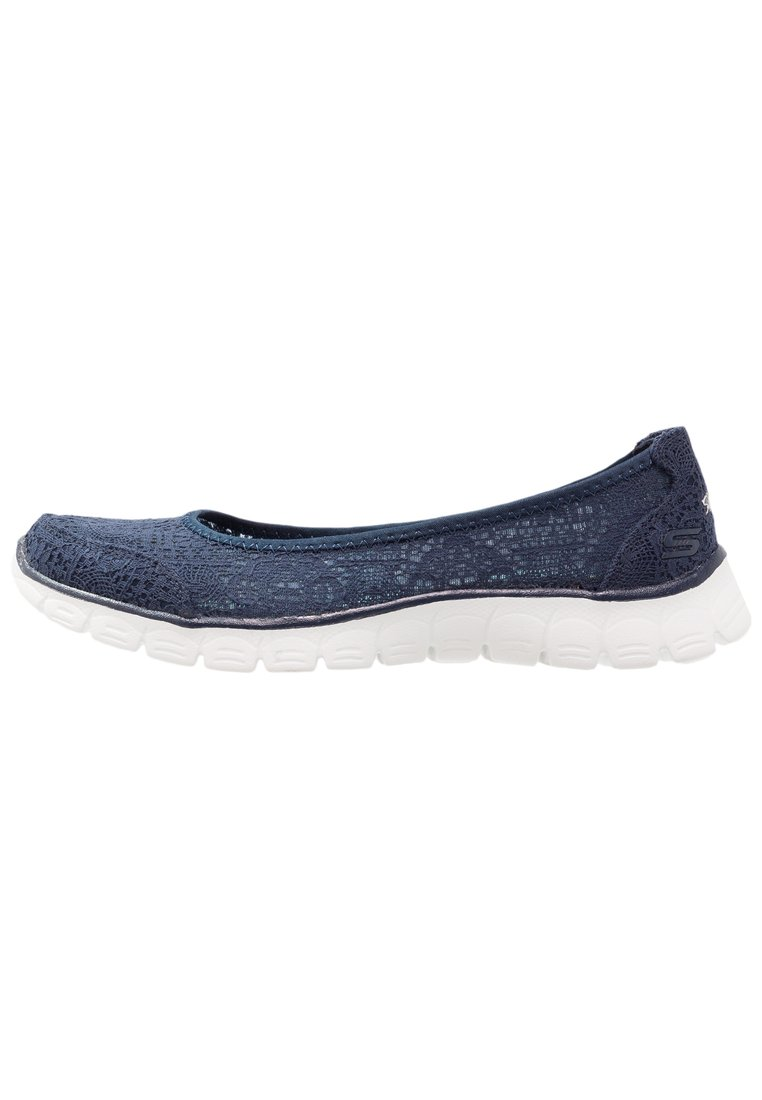 Skechers FLEX 3.0 Baleriny navy