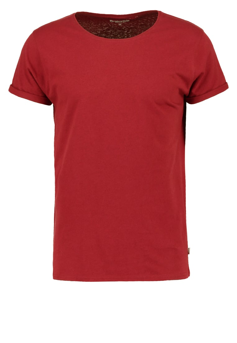 Resteröds JIMMY Tshirt basic burgundy - 7994-02