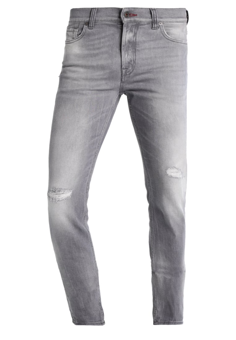 7 for all mankind RONNIE Jeansy Slim fit hillcrestgrey - SD4R090BT
