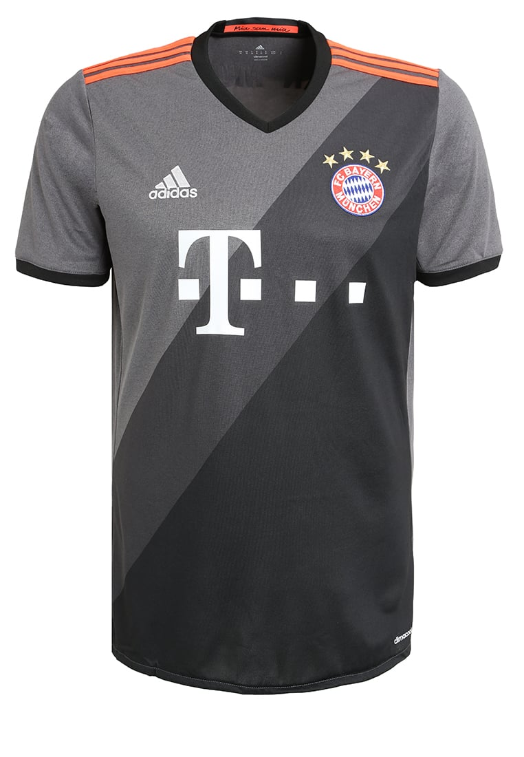 adidas Performance FC BAYERN AWAY Artykuły klubowe gris/noir/rouge - BXE55