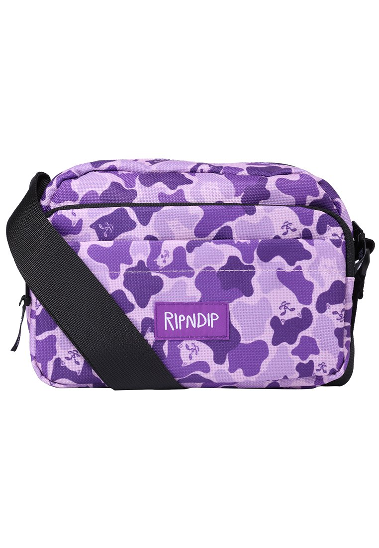 RIPNDIP INVISIBLE SHOULD BAG Torba na ramię purple - Invisible Should Bag