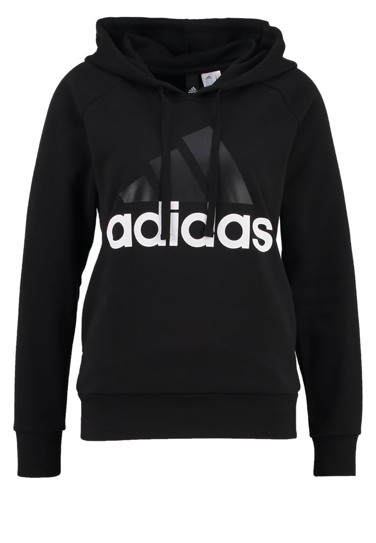 adidas Performance Bluza z kapturem black - MMJ68