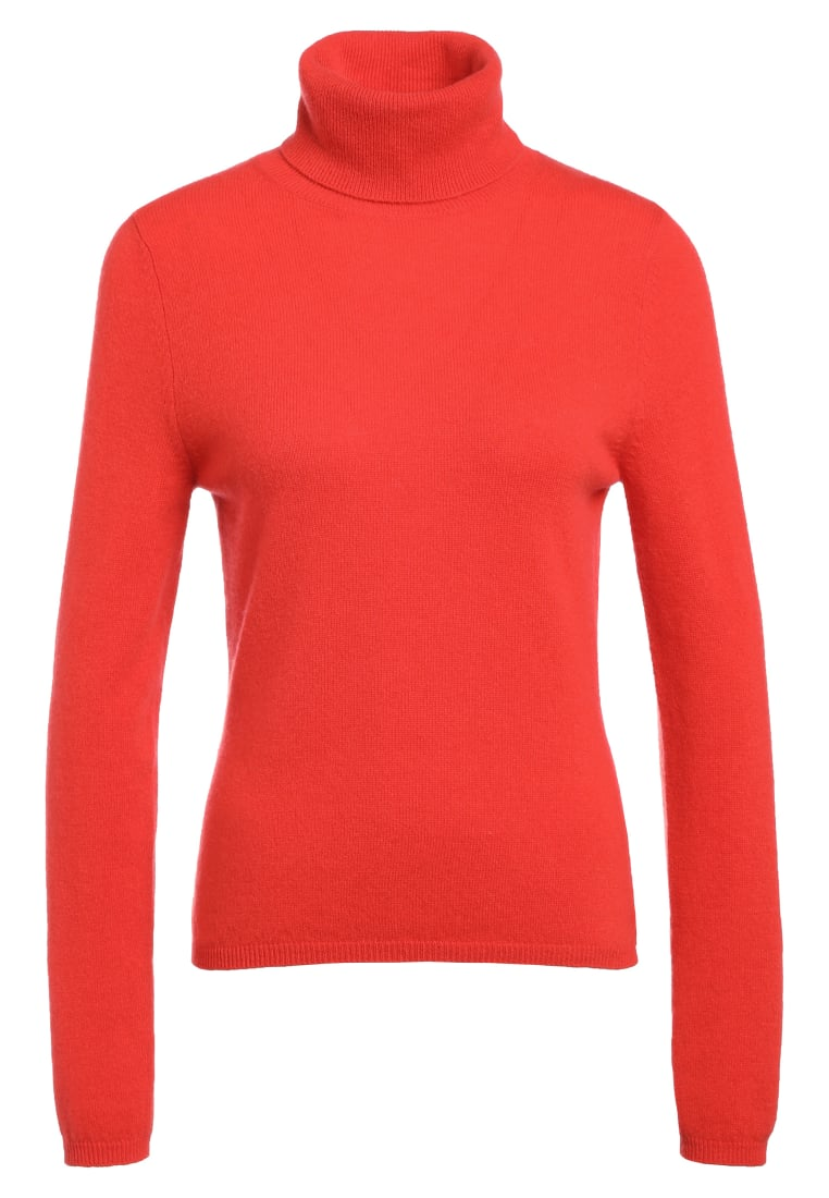 FTC Cashmere BASIC Sweter flame - 001-1140
