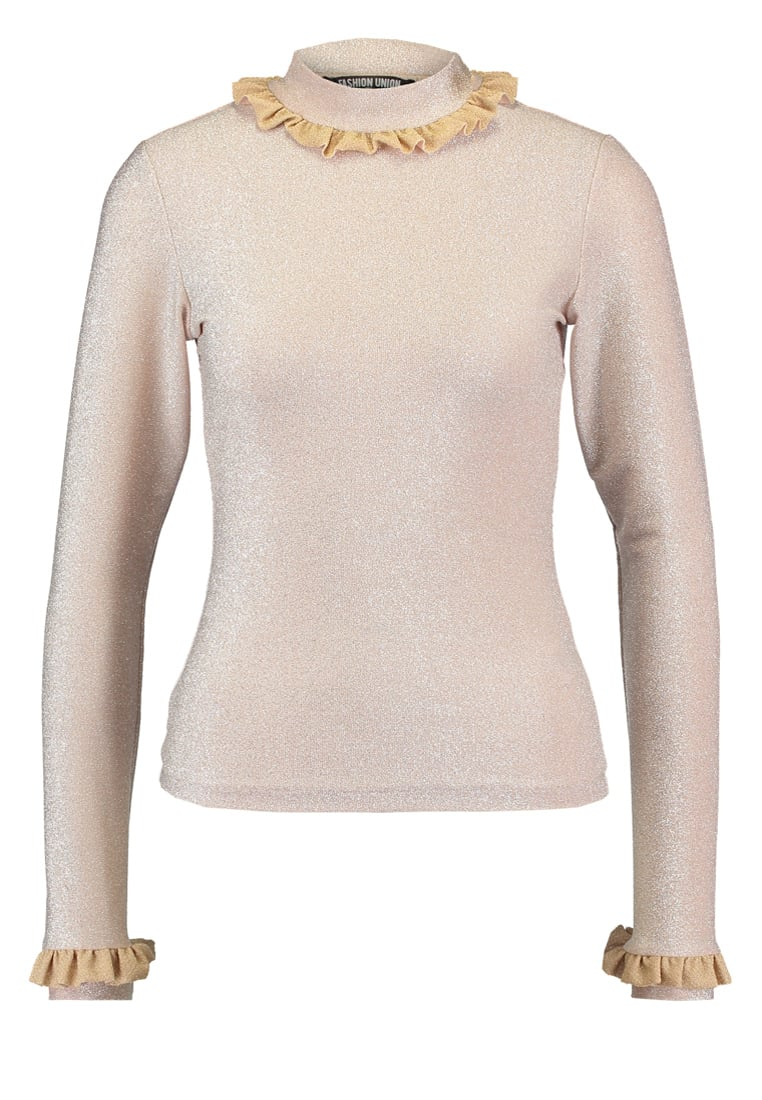 Fashion Union Tall BUZZ Sweter nude - BUZZ