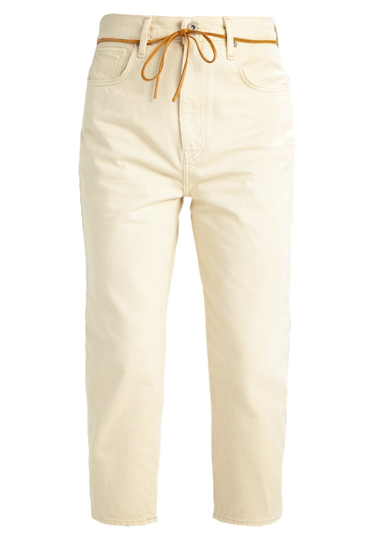 Levi's® Made & Crafted BARREL Jeansy Straight leg white demim - 29315