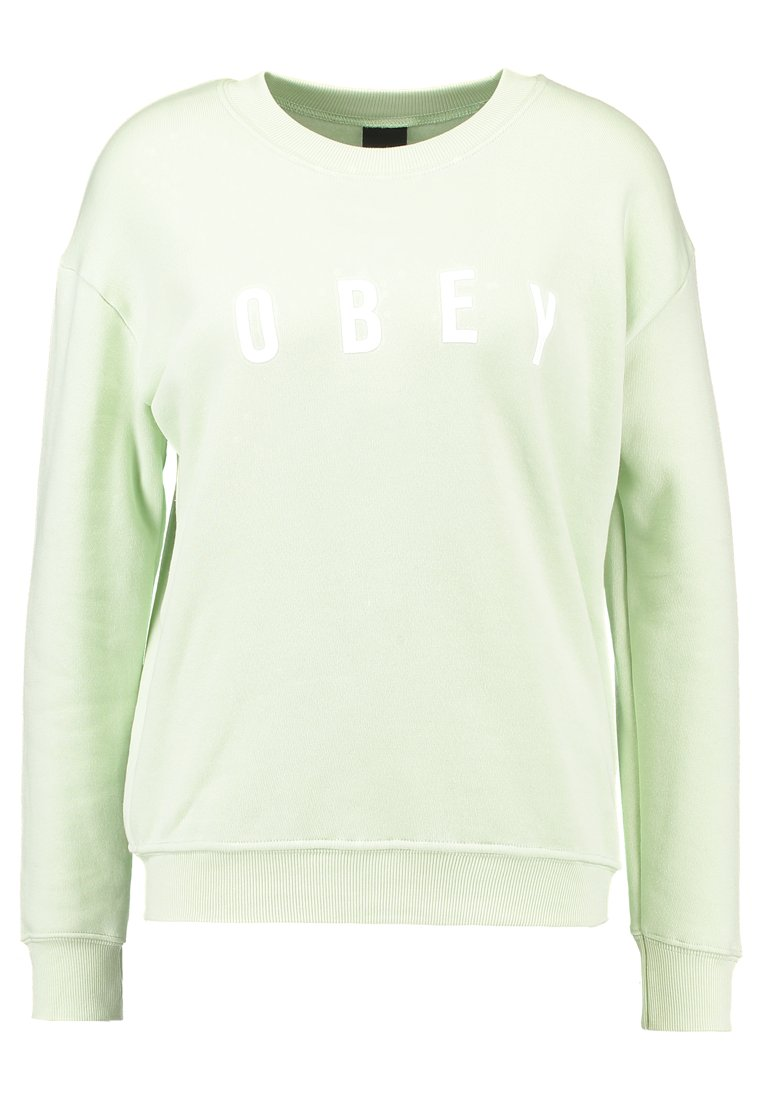 Obey Clothing ANYWAY Bluza sea green - 212411231
