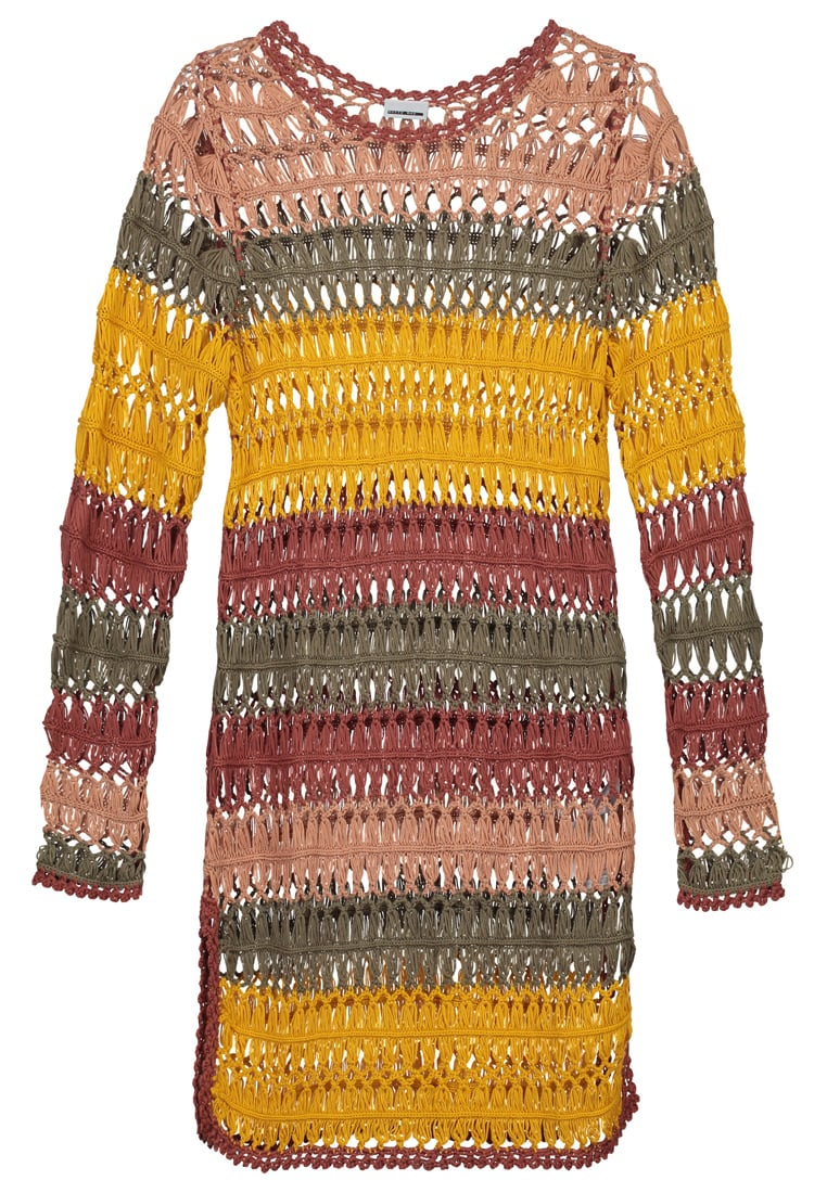 Noisy May Tall NMCHESTER Sweter cedar wood - 10184349