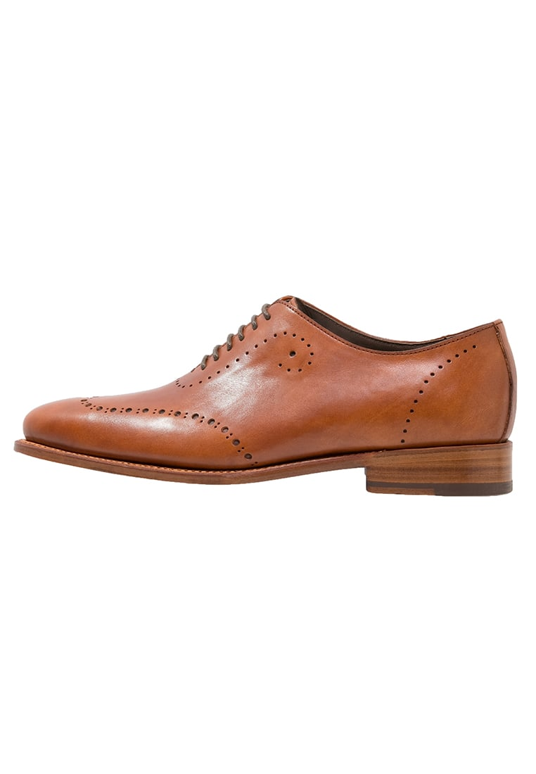 Prime Shoes BARI Oksfordki crust cognac - PS Bari