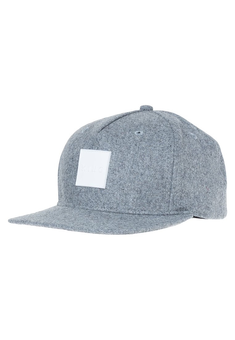 King Apparel HARDGRAFT Czapka z daszkiem grey - AW16-ZHGCGY-OS