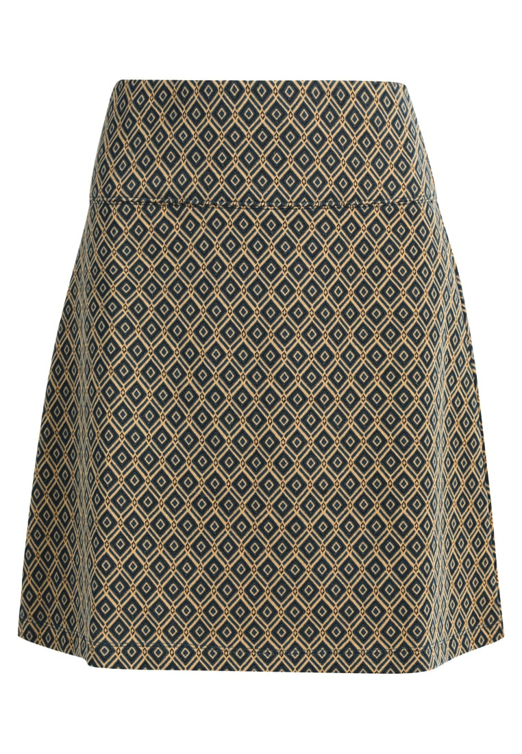 King Louie BORDER SKIRT LYNE Spódnica trapezowa storm blue - 02075
