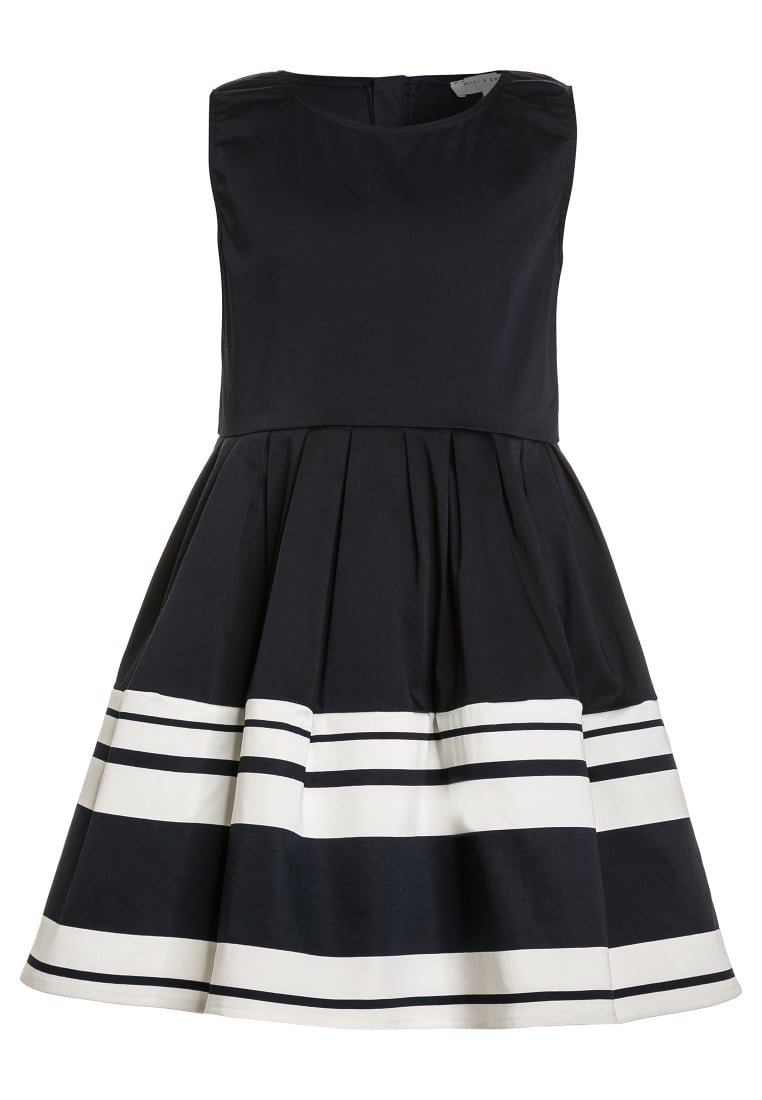 mint&berry girls Sukienka koktajlowa navy/white - M322CAIY