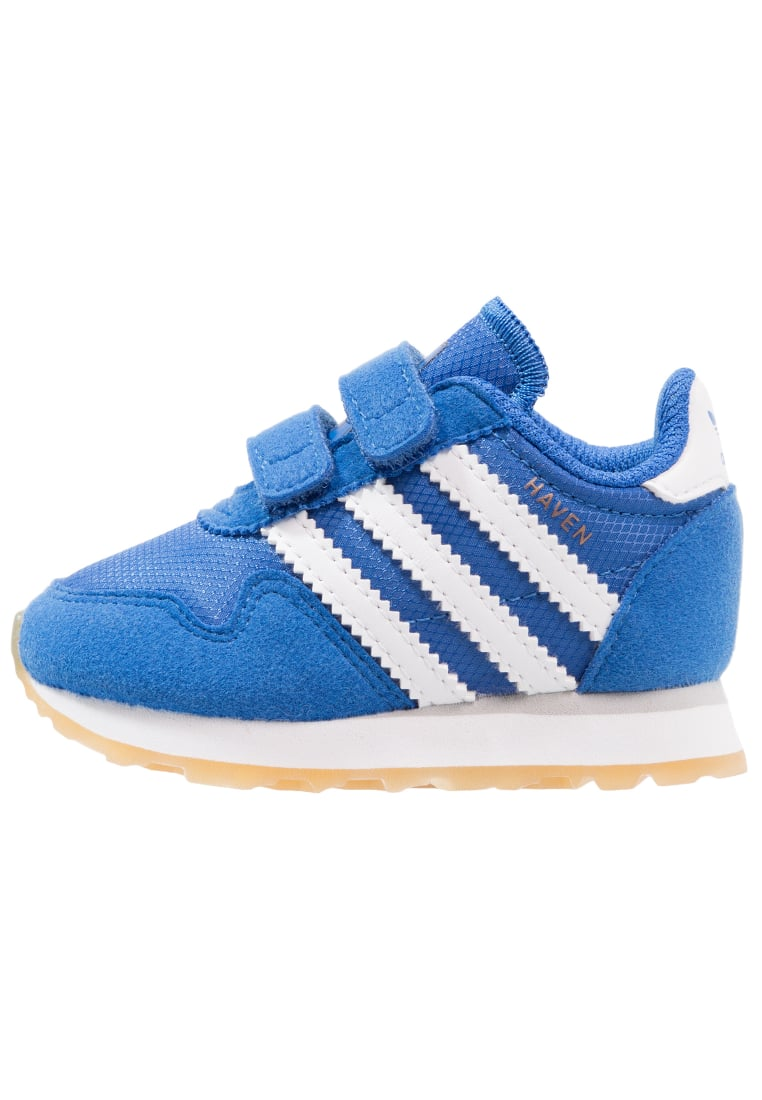 adidas Originals HAVEN CF Tenisówki i Trampki blue/footwear white - CEI79