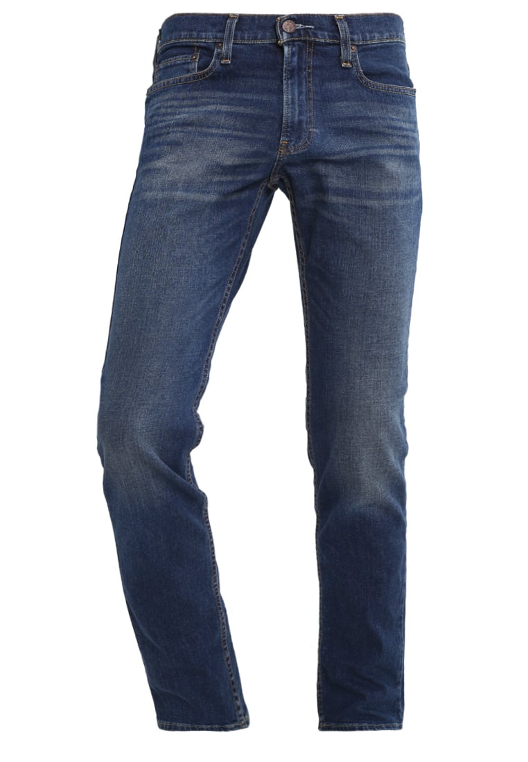 Hollister Co. Jeansy Slim fit blue denim - KI331-6011