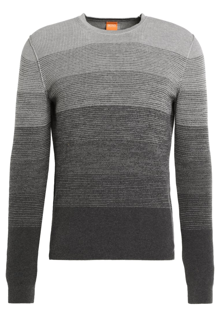 BOSS Orange AKATRUSCO Sweter light/pastel grey - 50378553