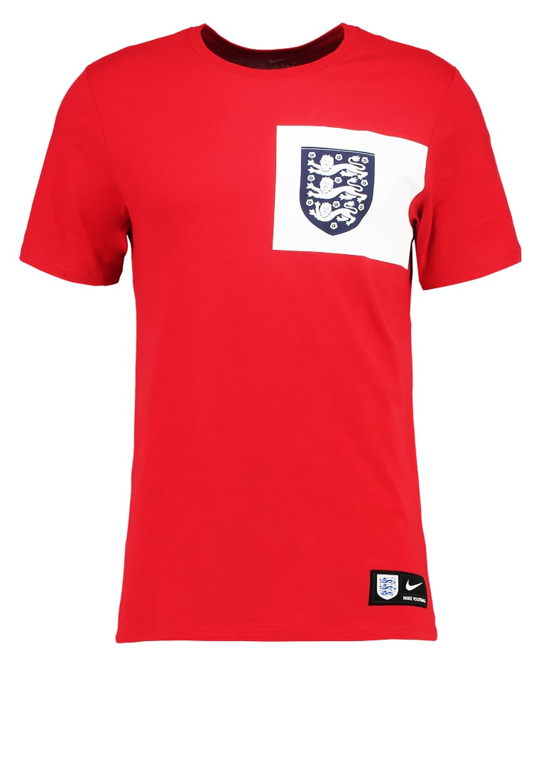 Nike Performance ENGLAND Koszulka reprezentacji university red/white - 832656