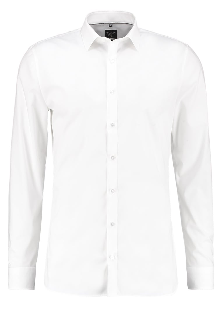 Olymp No. 6 SUPER SLIM FIT Koszula biznesowa off white - 046664