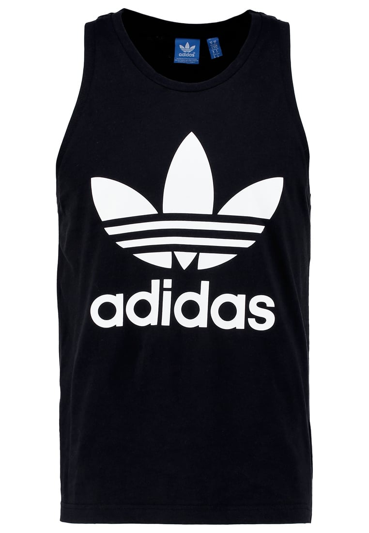 adidas Originals TREFOIL Top black - NQD00