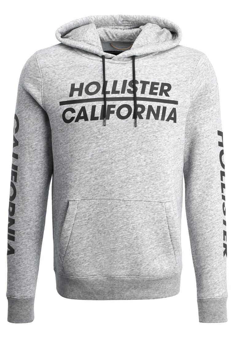 Hollister Co. ATHLETIC Bluza z kapturem grey - KI322-7302