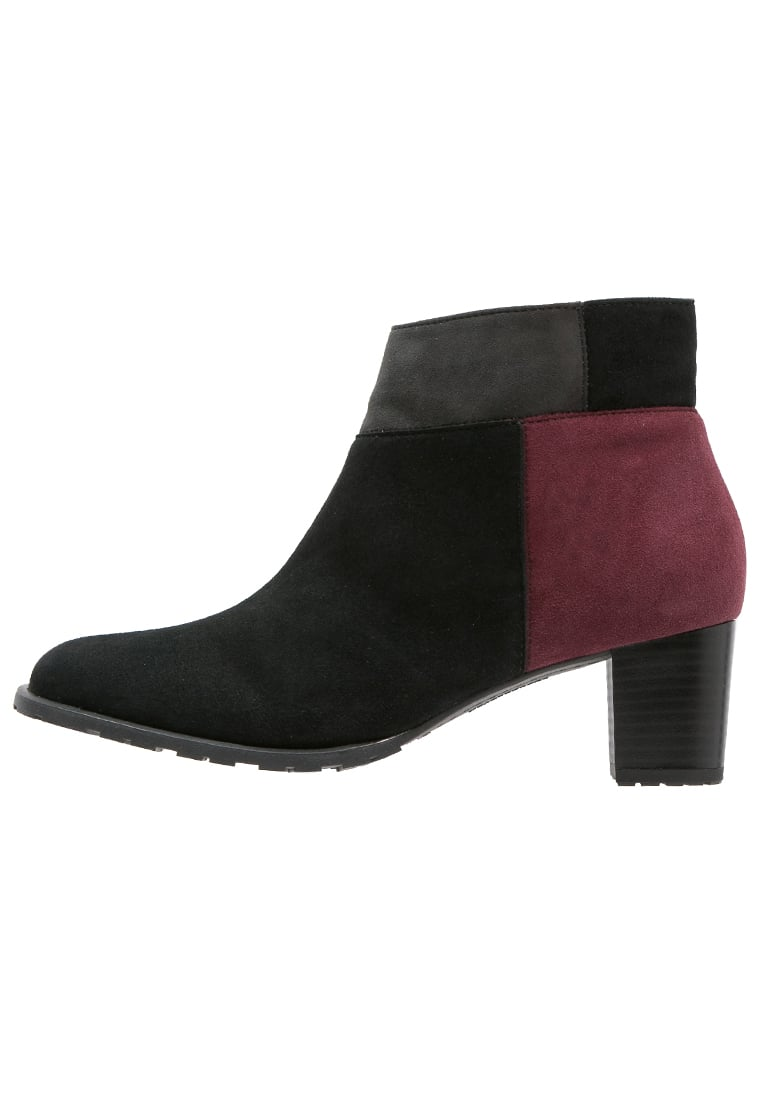 ara BRIGHTON Ankle boot schwarz/bordo/crow - 12-43510