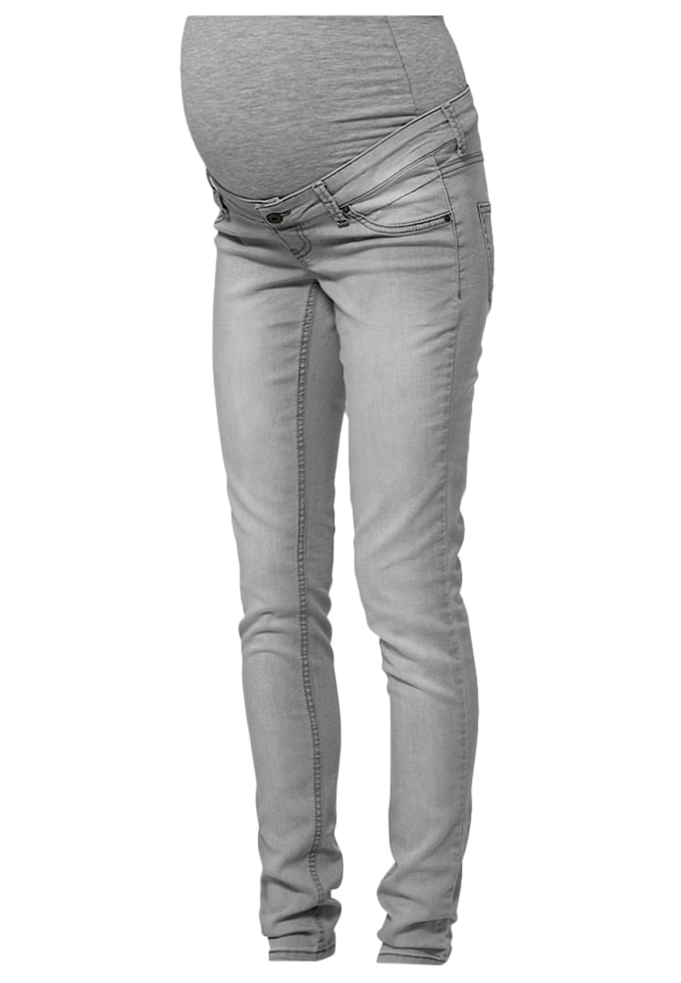 Queen Mum Jeansy Slim fit grey - Noa