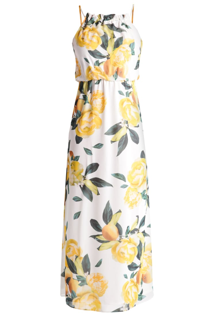 Dorothy Perkins Długa sukienka yellow lemon - 7536241
