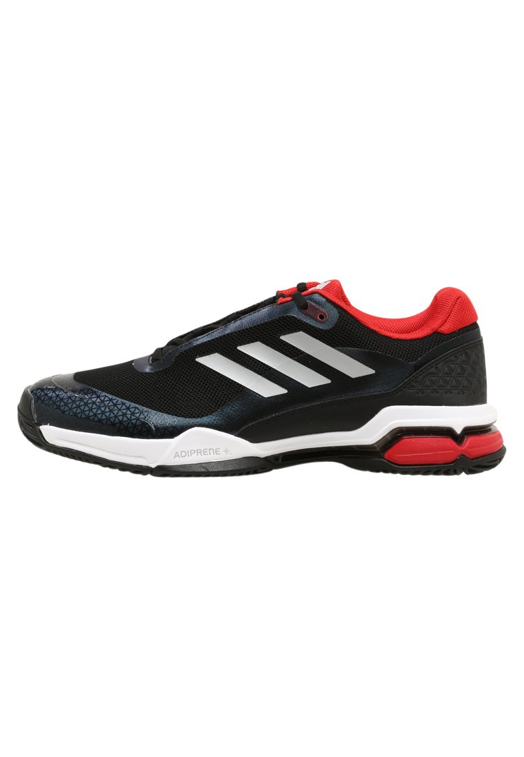 adidas Performance BARRICADE CLUB Buty multicourt black/metallic silver/white - KDC47