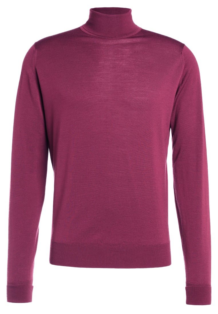 John Smedley RICHARDS Sweter maroon - Richards