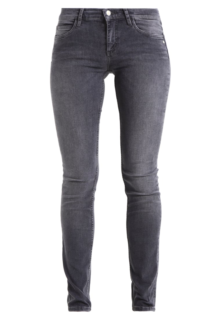Monkee Genes CLASSIC SKINNY Jeansy Slim fit grey - MGO1GS