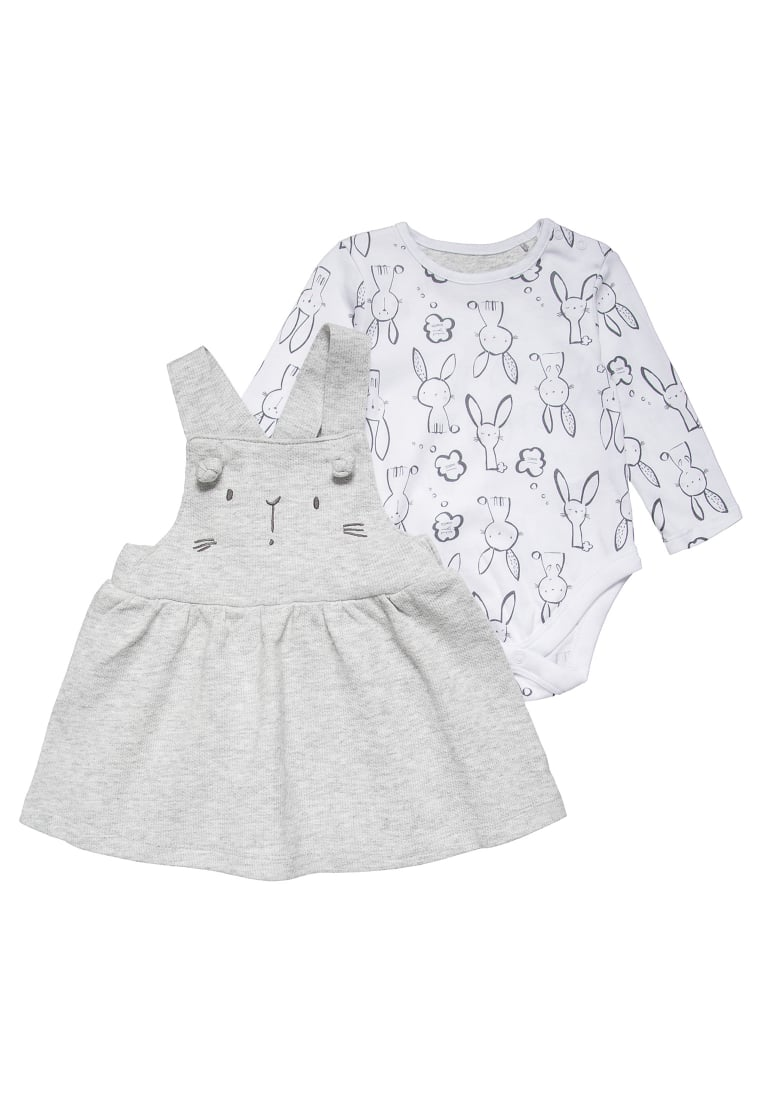 mothercare RABBIT SET Body grey - LD353