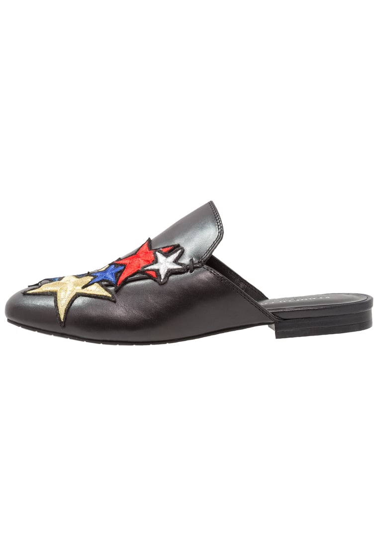Kenneth Cole New York WALLICE III (STAR PATCHES) Klapki black/multicolor