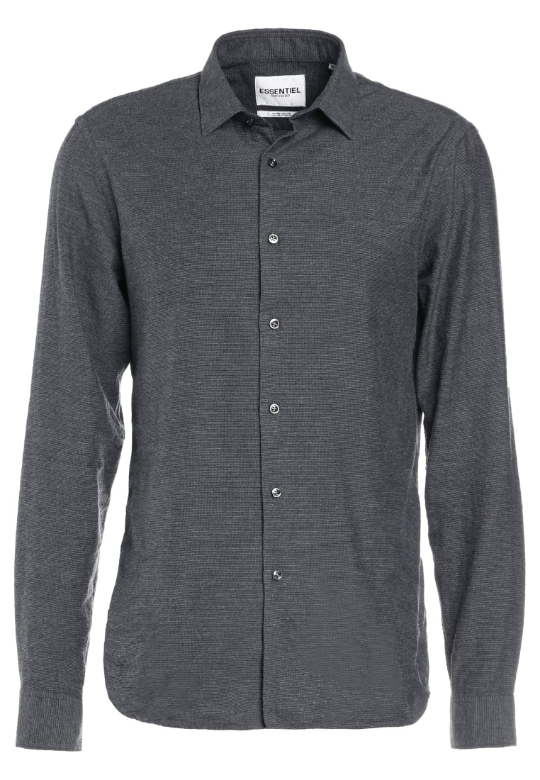 Essentiel Antwerp MINLAWS SLIM FIT Koszula grey - M-Inlaws Slim Fit No Placket