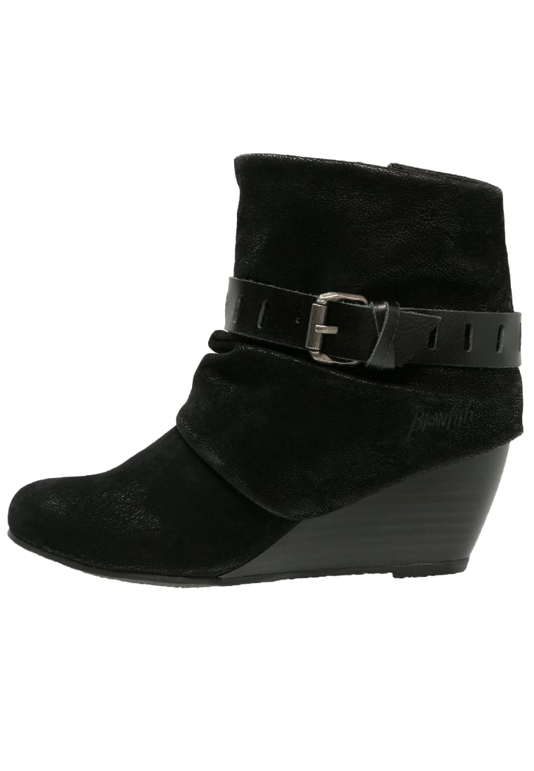 Blowfish BERYL Ankle boot black fawn - BF-6006