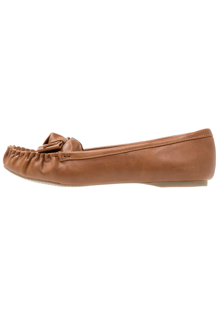 Dorothy Perkins Wide Fit LADYBIRD Mokasyny brown - 35264801