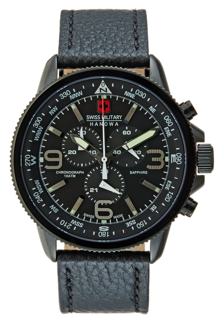 Swiss Military Hanowa ARROW Zegarek chronograficzny black - 06-4224.13.007