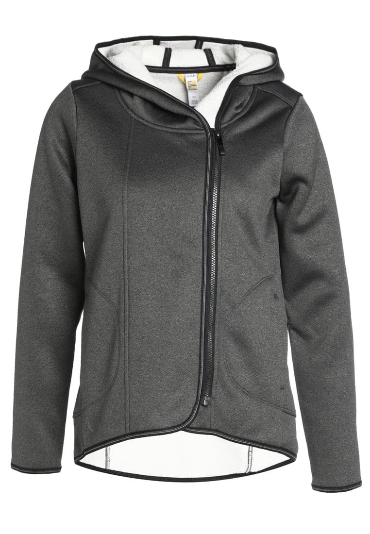 Lolë ARDEEN HOODED Kurtka sportowa black heather - LSW2487
