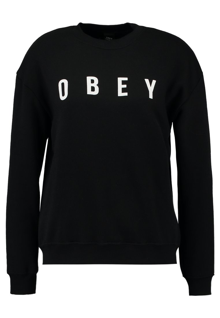 Obey Clothing ANYWAY Bluza black - 212411231