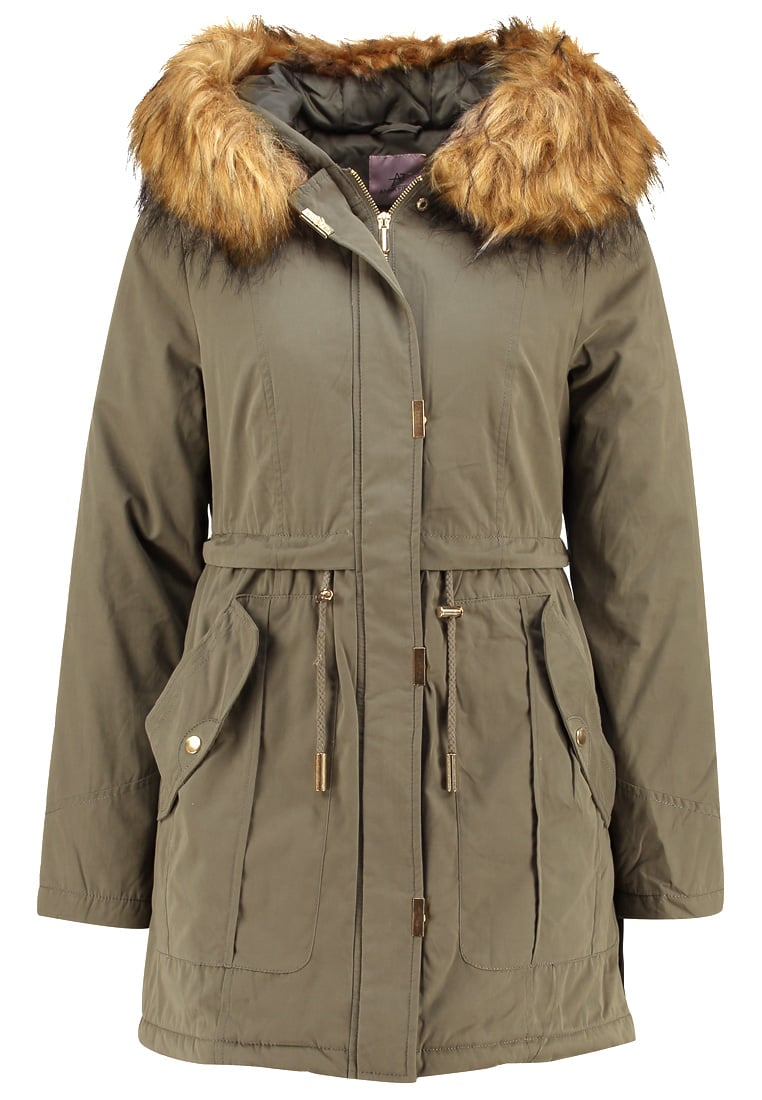 Anna Field LAURICE Parka olive - AN6_FW16_2-1-H_006