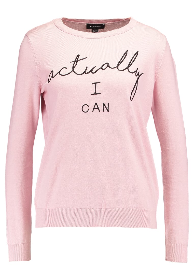 New Look ACTUALLY I CAN Sweter pink - 5391466