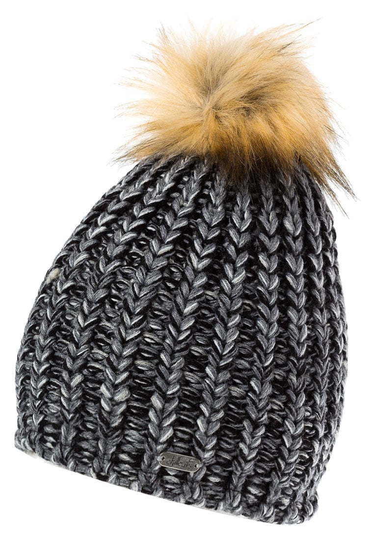 Chillouts CURLY Czapka black/grey - Curly Hat